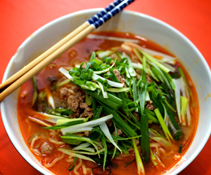 japanese food, MISO, and noodles image