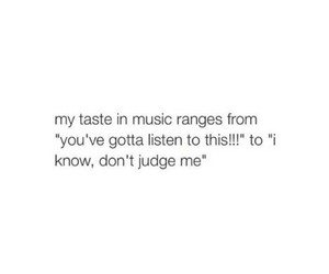 music, funny, and taste image