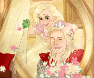 rapunzel, thor, and tangled image