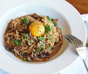 bacon, egg, and parmesan image