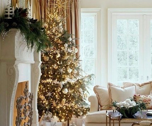 christmas, tree, and home image