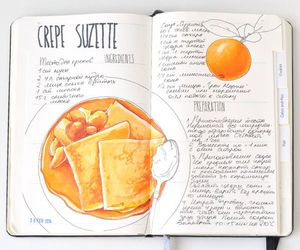 crepe and recipe image