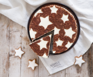 cake, food, and stars image