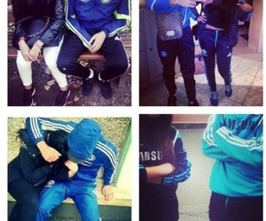 Chelsea, couple, and footbal image