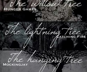 rue, catching fire, and the hanging tree image