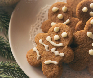 christmas and ginger bread man image