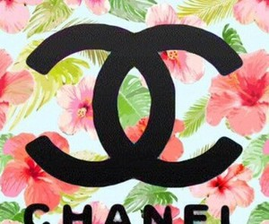 coco chanel, flowers, and wallpapper image