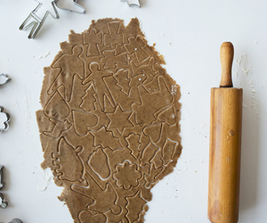 baking, christmas, and gingerbread image