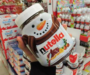 nutella and snowman image
