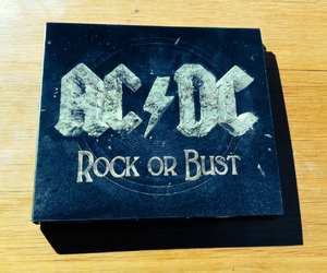 ACDC and rock or bust image