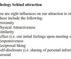 attraction, psychology, and typography image