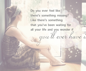 quote, girl, and lonely image