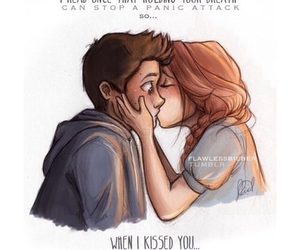 teen wolf, stydia, and kiss image