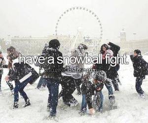 snow, winter, and fun image