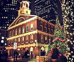 christmas, lights, and city image