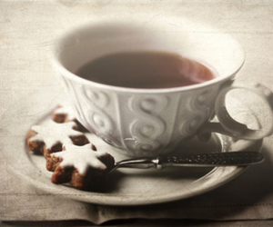 cup, food, and spoon image