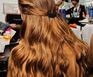 fashion and long hairstyles image