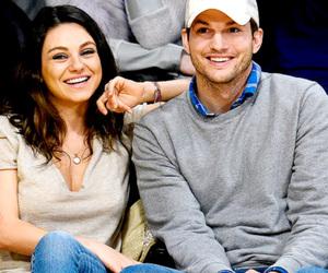 ashton kutcher and Mila Kunis image