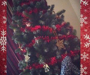 angle, baubles, and christmas image
