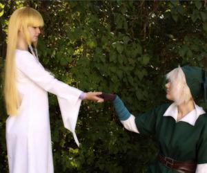 cosplay, Legend of Zelda, and skyward sword image