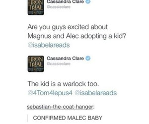 baby, the mortal instruments, and alec lightwood image