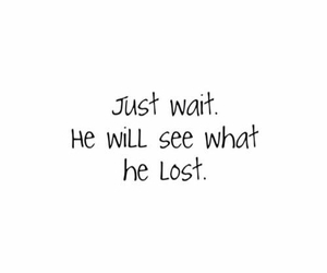 quotes, lost, and wait image