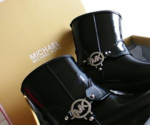 boots, fashion, and Michael Kors image