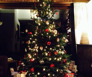 christmas, famille, and swiss image
