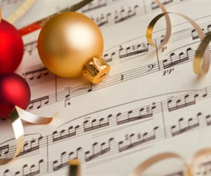 christmas, music, and song image