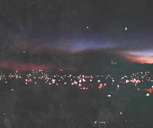 city, night, and grunge image