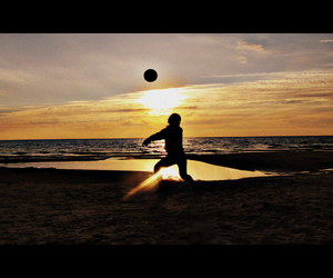 ball, baltic, and evening image