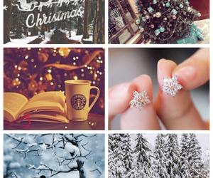 bird, christmas, and earrings image