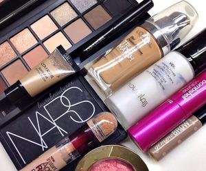 makeup, fashion, and mac image