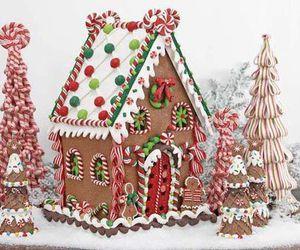 cake, christmas tree, and Cookies image