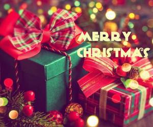 present, christmas, and gifts image