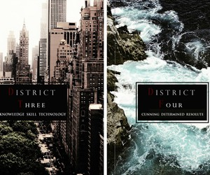 hungergames, district3, and district4 image