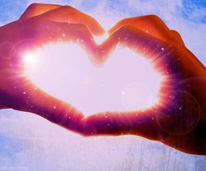 heart, I Love You, and you image