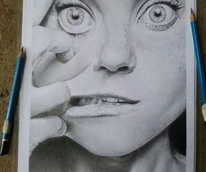 art, draw, and crazy image