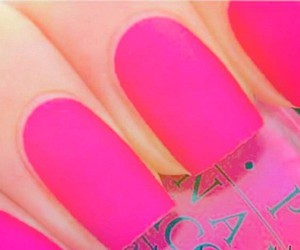 nails, pink, and prefect image