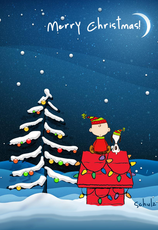 Merry Christmas Eve Snoopy discovered