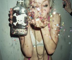 poison, drug, and confetti image