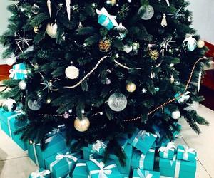 christmas, christmas tree, and love image