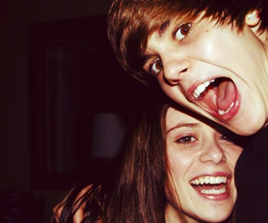 justin bieber, caitlin beadles, and jaitlin image