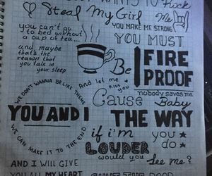 Lyrics, music, and 1d image