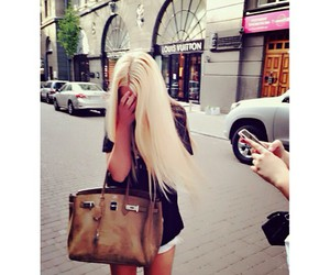 girl, luxury, and blonde image