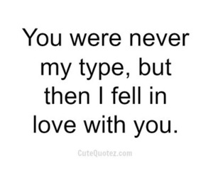 love, quotes, and type image