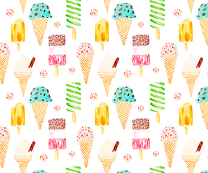 background, wallpaper, and ice cream image