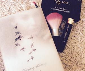 beauty, birds, and brush image