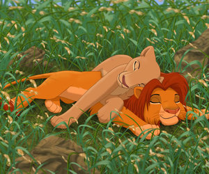 lion king, true love, and simba image