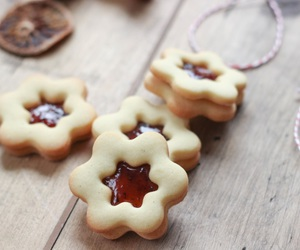 christmas, Cookies, and butter cookies image